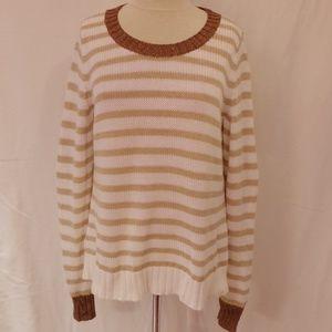 Banana Republic Cotton Sweater NWOT- Sz. Lrg